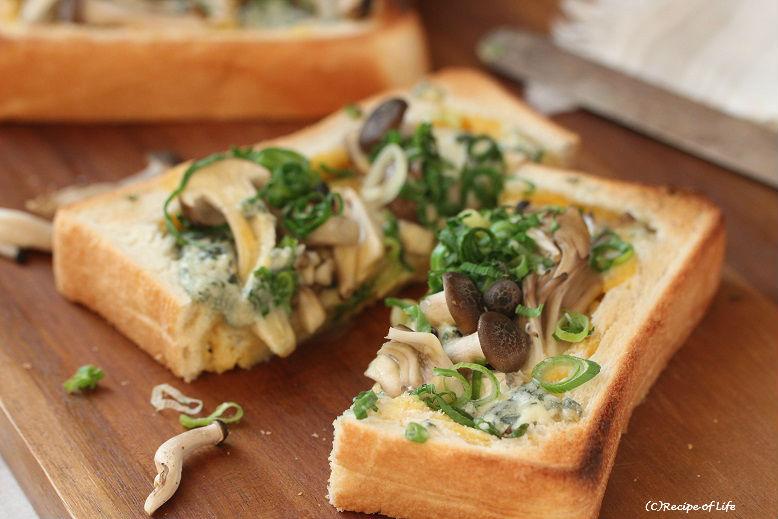トースターと食パンで簡単♪ちょっとリッチな「キッシュトースト」 by;河合真由子 さん