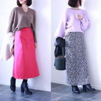 冬こそ差し色!今気になる「パープル&ピンク」プチプラコーデ例3つ