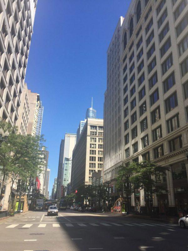 シカゴの朝