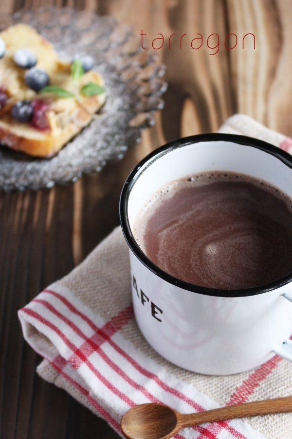 疲れがたまった朝は♪甘くてぽかぽか「ジンジャーホットチョコレート」