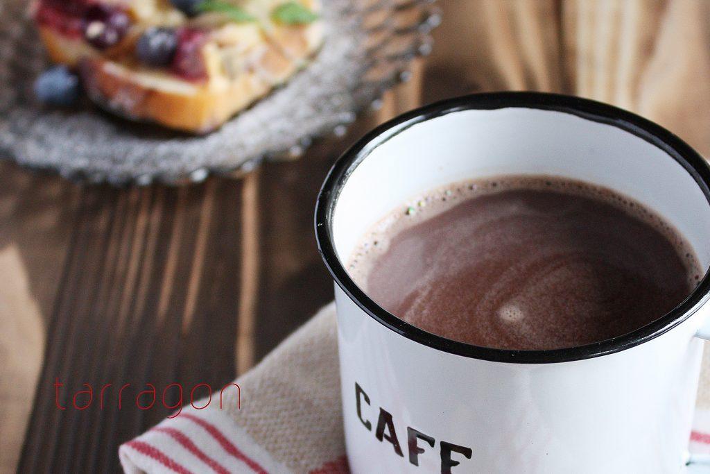 疲れがとれない朝は♪材料3つでぽかぽか「ジンジャーホットチョコレート」