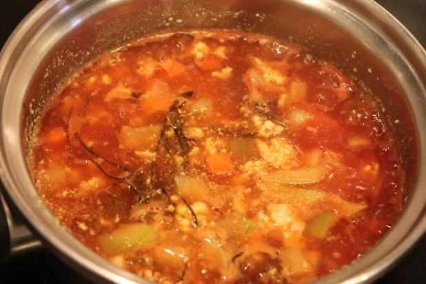 スープジャーカレー