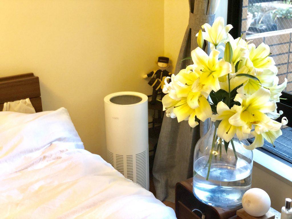 バルミューダ―加湿器 kado空気清浄器