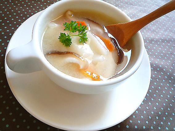 お餅入り♪みぞれレンコンスープ by:machiさん