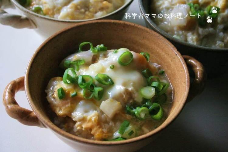 季節の変わり目に・・・風邪を予防する雑炊 by:nickyさん