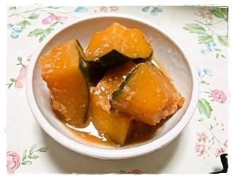 塩麹でうまみたっぷり かぼちゃ煮♪ by:にゃこさん