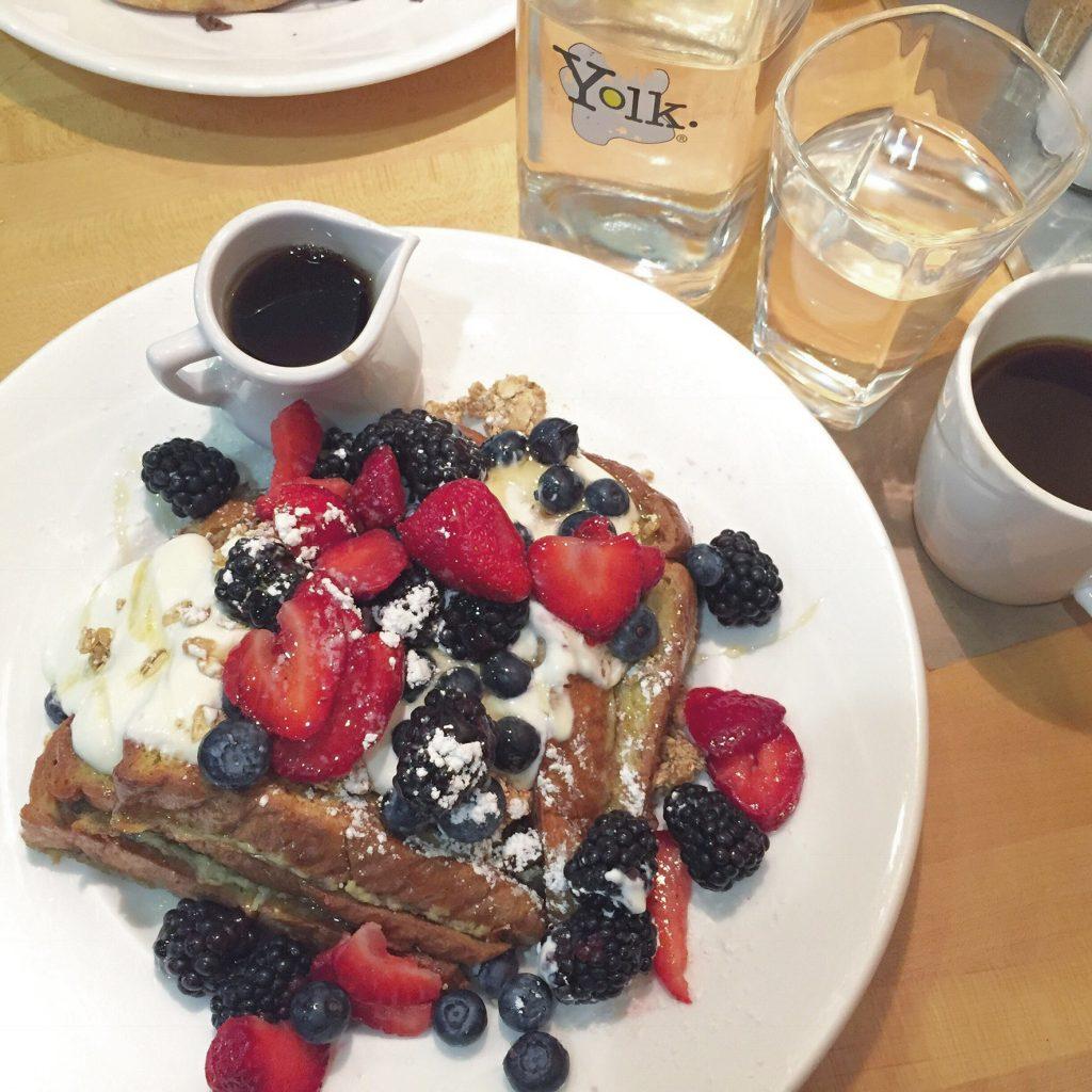 Yolkの朝ごはん