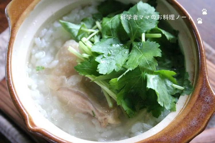 小さいお鍋の鶏雑炊 by:nickyさん