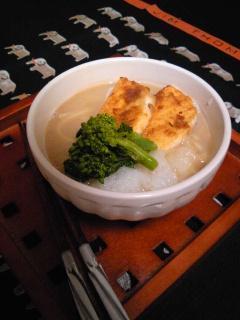 あったか☆ショウガ豆乳うどんwith味噌焼きはんぺん by:hiromigoroさん