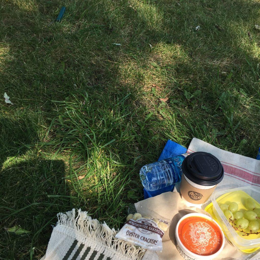 シカゴの朝ピクニック