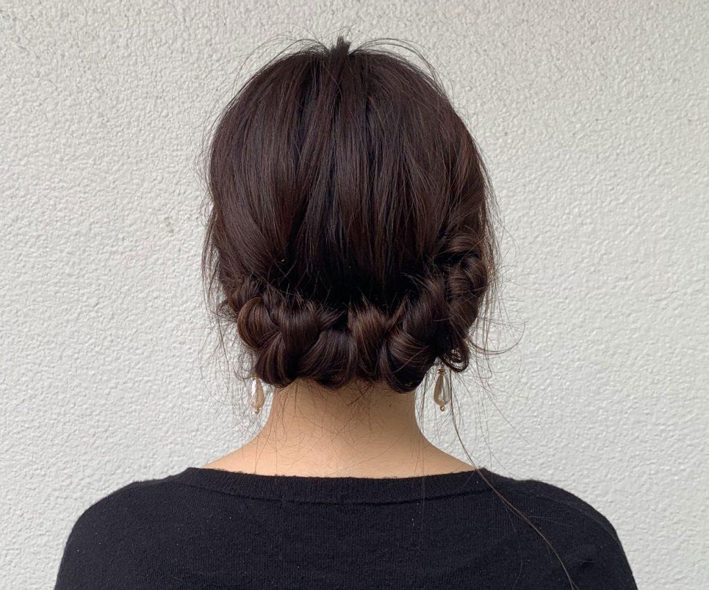 巻かずにできちゃう♪パーティーにぴったり「お呼ばれヘア」の作り方