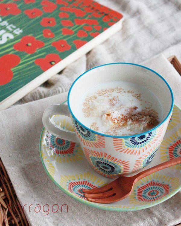 朝5分で完成!さらっとした甘さがおいしい「シナモンミルク汁粉」 by:タラゴン(奥津純子)さん