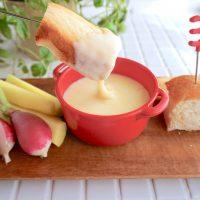 レンジでカンタン♪朝から楽しむ「チーズフォンデュ」の作り置き