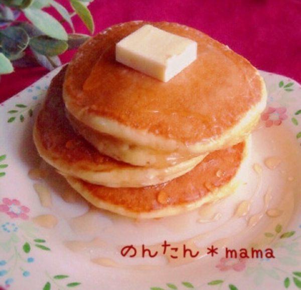 昔ながらのパンケーキ♪朝ごはんにどうぞ by:のんたんママさん