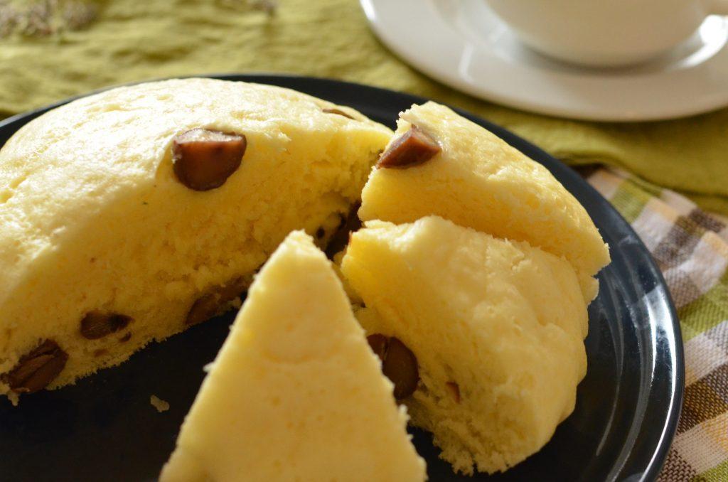 ホットケーキミックスとフライパンで簡単もちっふわっ♪「甘栗蒸しパン」 by:柳沢 紀子 さん