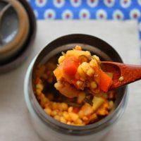 熱々ヘルシー!家にある調味料で簡単「スープジャーカレー」弁当