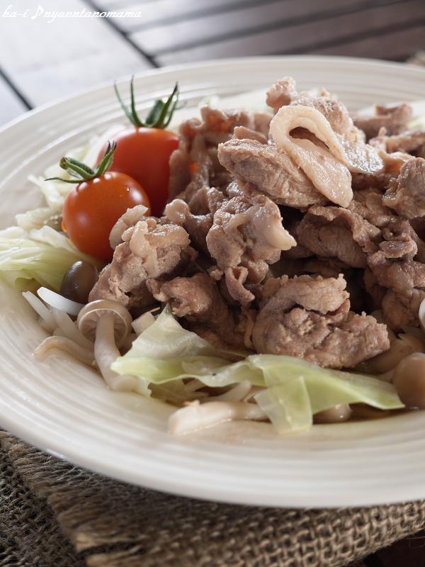 <さっと煮るだけ 豚肉と野菜のうまダレ> by:はーい♪にゃん太のママさん