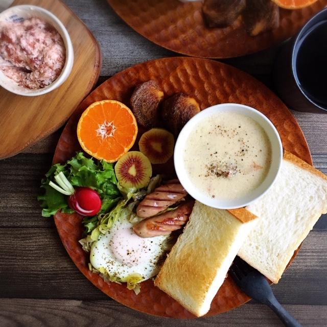 生のまま耳まで美味しい♪高級生食パン「乃が美」のパンを楽しむ朝ごはん