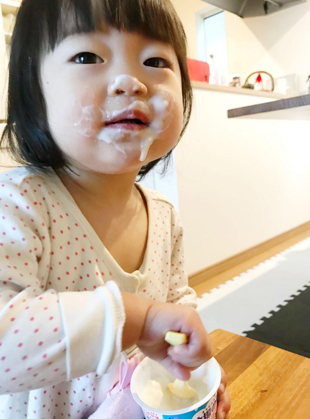 子どもの食べこぼしは当たり前!