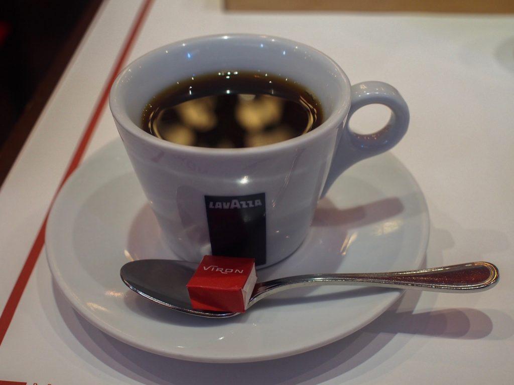 VIRONの朝食のコーヒー