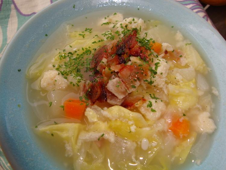 野菜畑のふわふわスープ by:happyspiceさん