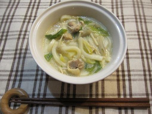 とりごぼうの味噌豆乳うどん by:sifonさん