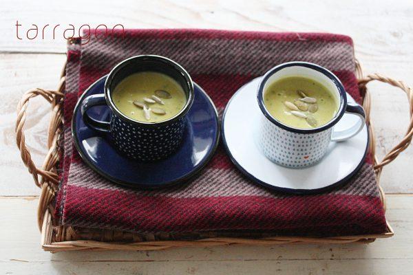 味付けは塩だけ!レンジで簡単「豆腐とかぼちゃのなめらかポタージュ」 by:タラゴン(奥津純子)さん