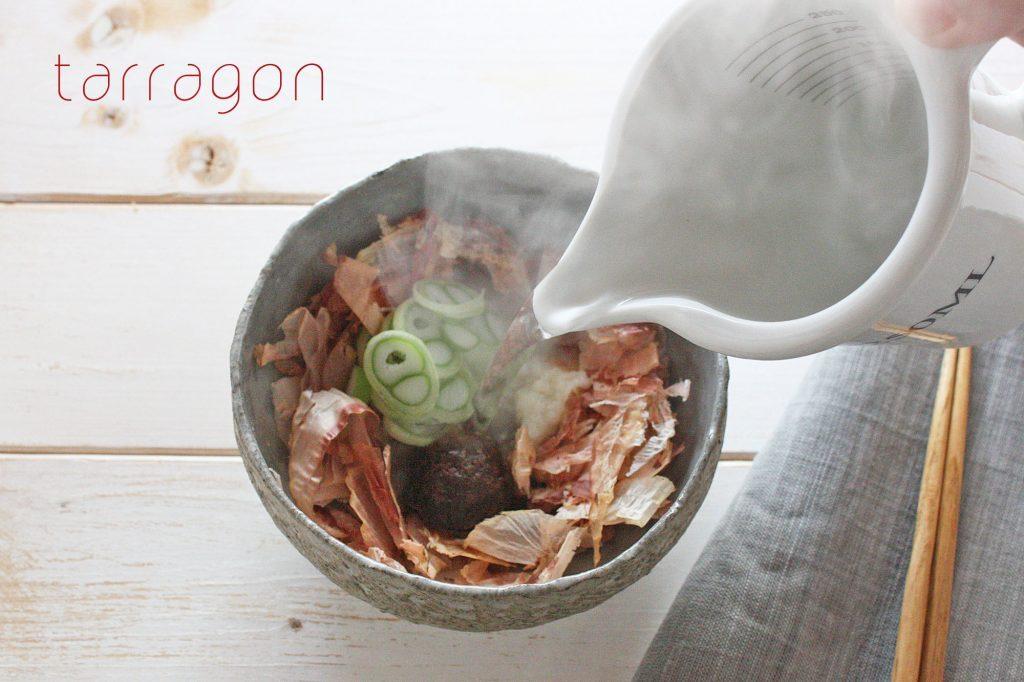 """二日酔いや風邪予防に!お湯を注ぐだけの""""食べる""""スープ「甘酒かちゅー湯」♪ by:タラゴン(奥津純子)さん"""