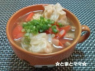 ワンタンにゅう麺 by:とまとママさん
