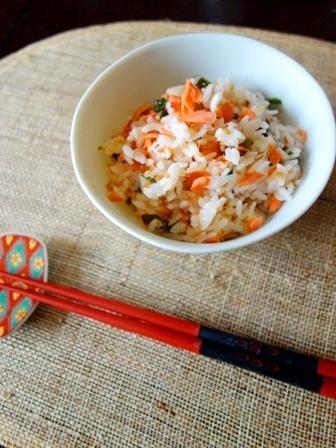 鮭とわかめの混ぜご飯by:Y'sさん
