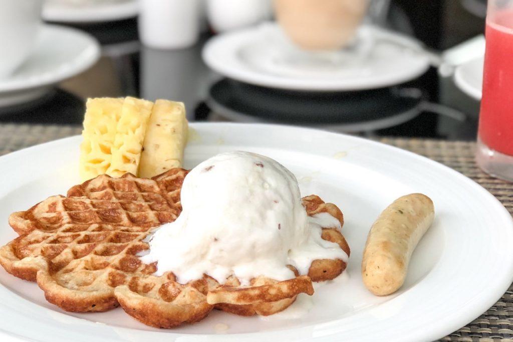 「Pullman Danang Resort」の朝ごはん