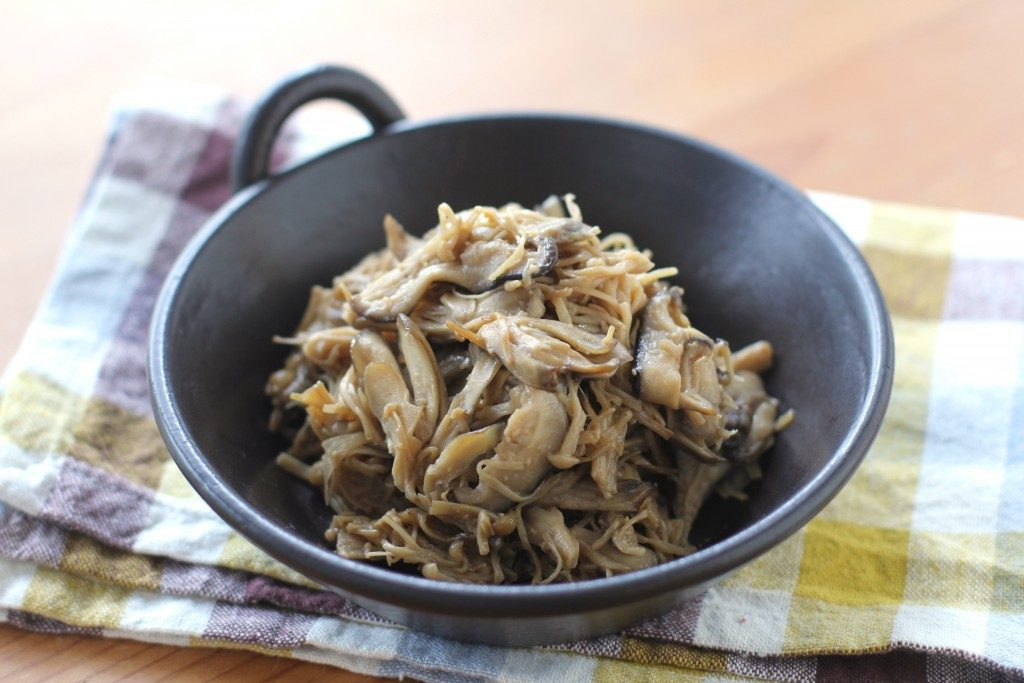 かんたん常備菜で朝が楽ちん♪「きのこのうま煮」とアレンジ3レシピ