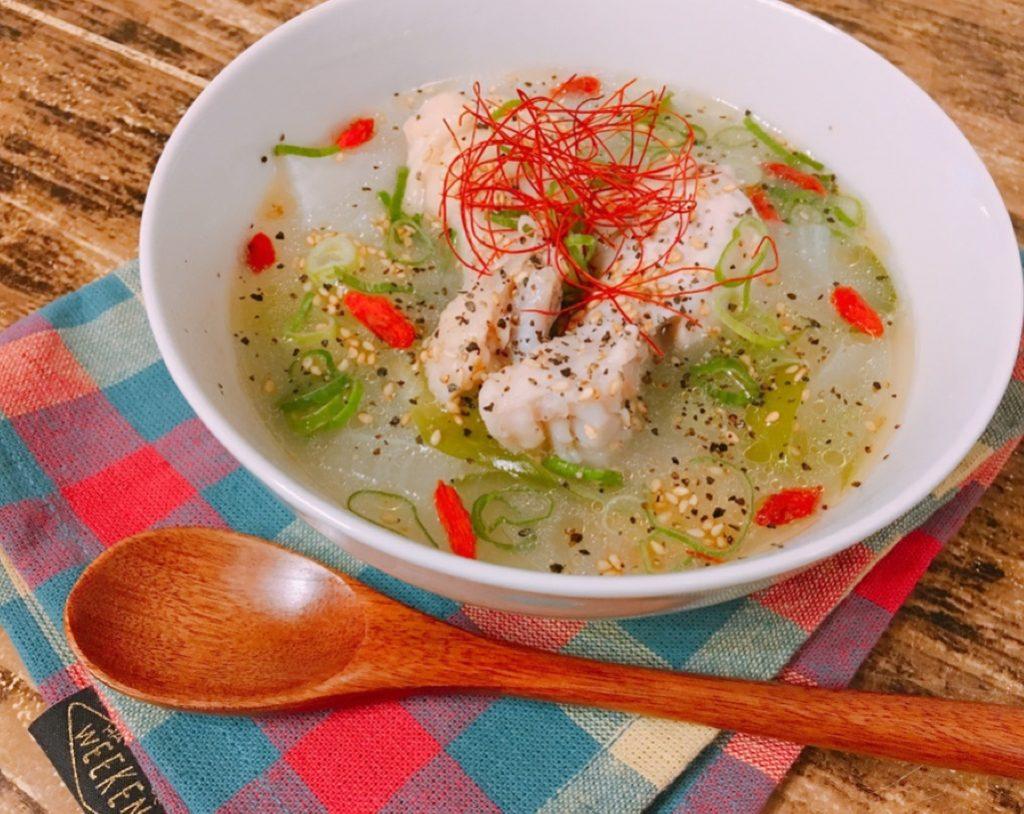 炊飯器のボタンひとつ!手軽な材料で簡単あったか「サムゲタンスープ」♪