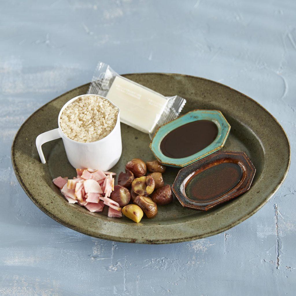 炊飯器+お餅で超カンタン!もちもち絶品「中華おこわ風」材料