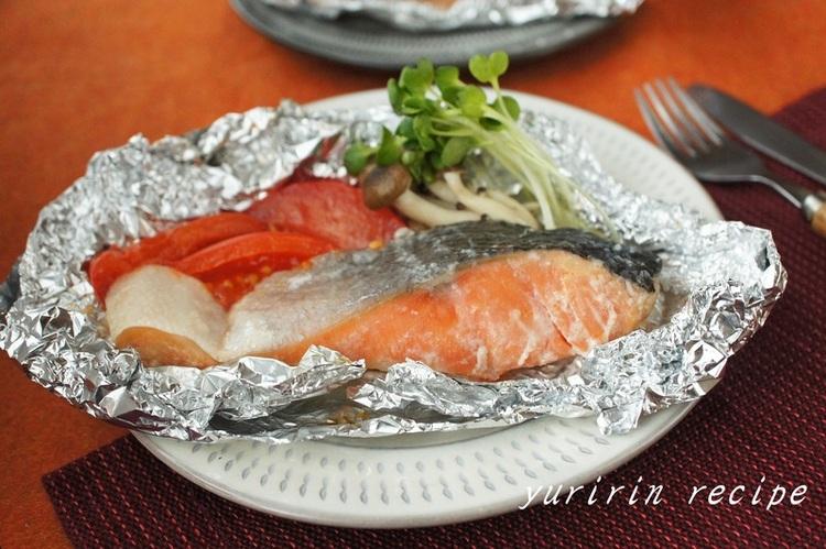 鮭の塩麹ホイル焼き by:ゆりりんさん
