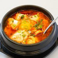 レンジで温めるだけ♪私のお気に入りヘルシー豆腐鍋「豆乳たっぷりスンドゥブ」