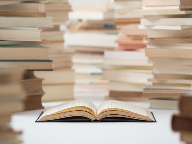 たくさんの本で勉強中