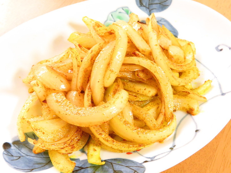 お弁当に♪カレー風味の玉葱ソテー by:kaana57さん