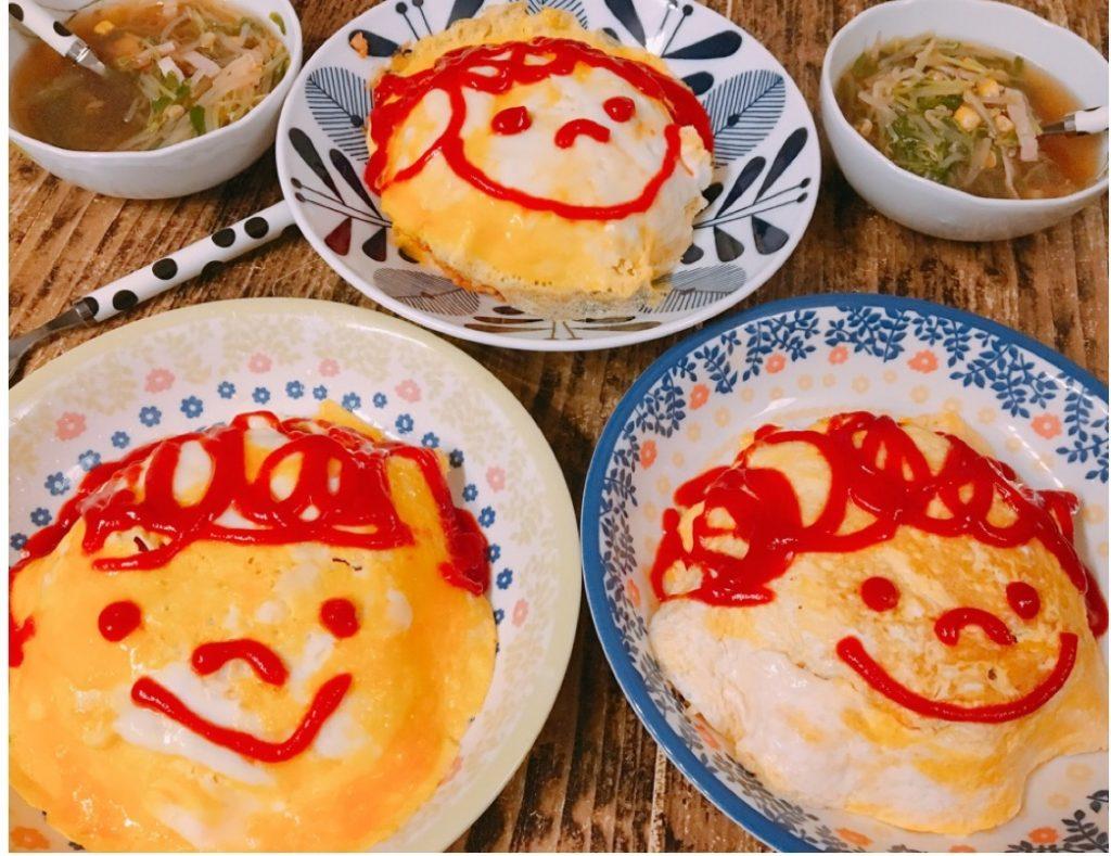 朝は炊飯器におまかせ!オムライス弁当がラクラク「ケチャップライス」