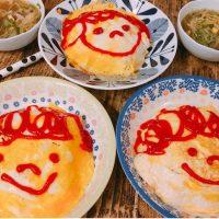 忙しい朝でもオムライス弁当がラクラク♪炊飯器で簡単「ケチャップライス」