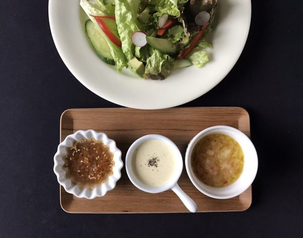 マンネリ解消!混ぜるだけで簡単「手作りドレッシング」3種類 by:料理家 村山瑛子さん