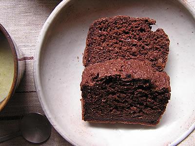 米粉とおからでココアケーキ by:toumonさん