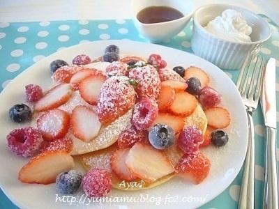 フルーツを盛る