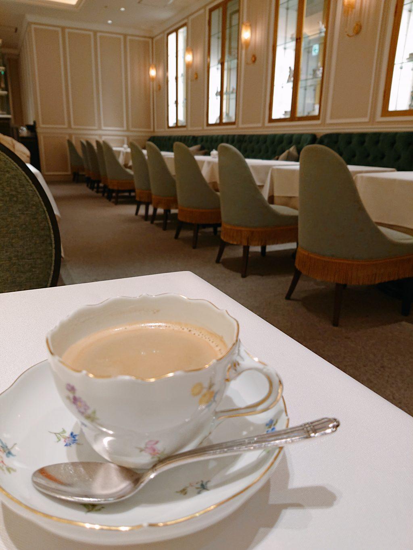 マイセンカフェのコーヒー
