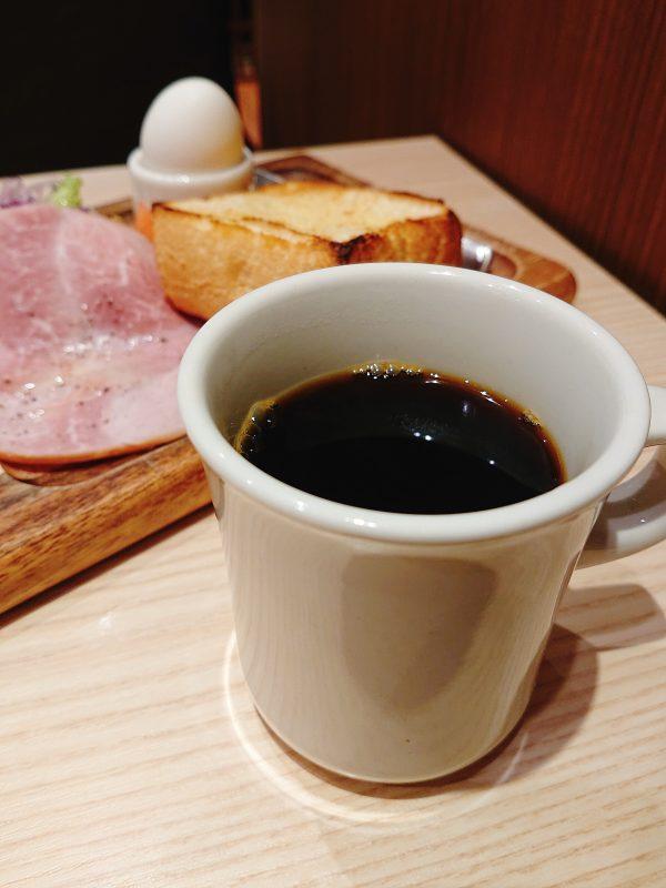 小川珈琲のモーニングのコーヒー