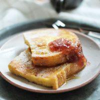 朝起きて15分で食べられる!時短でふっくら「フレンチトースト」2つのコツ