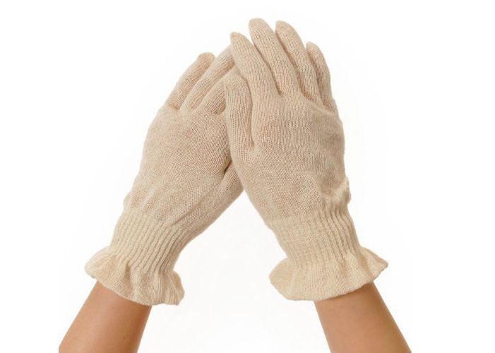 麻福ヘンプおやすみ手袋 Sサイズ