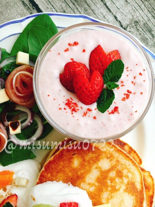 いちごとクリームチーズのデザートスープ by:Misuzuさん