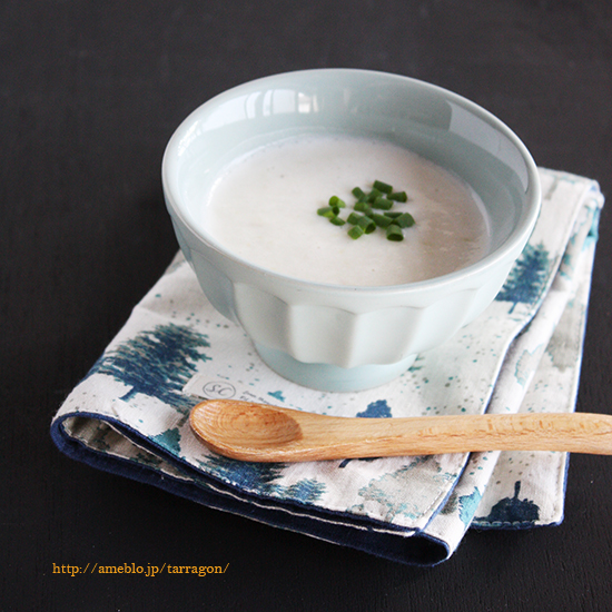 年末年始の暴飲暴食をリセット、豆腐と豆乳のシンプルポタージュ。 by:タラゴン(奥津純子)さん