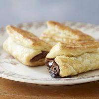 トースターで簡単!板チョコを巻いて焼くだけ「チョコクロワッサン」